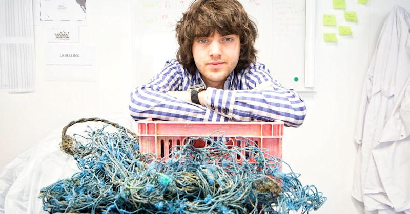Why Peter Thiel believes in this 22-year-old's dream to clean up the oceans