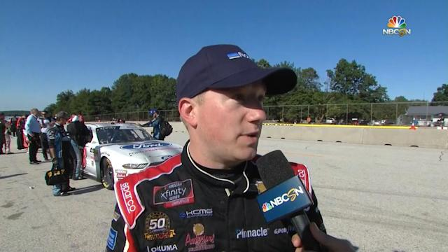 Tyler Reddick finishes third in Xfinity race at Road America