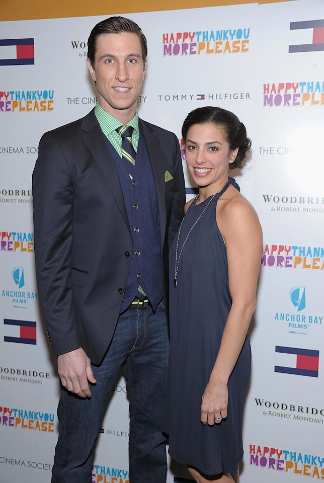 """<a href=""""http://movies.yahoo.com/movie/contributor/1808480596"""">Pablo Schreiber</a> and guest attend the New York Cinema Society screening of <a href=""""http://movies.yahoo.com/movie/1810097669/info"""">HappyThankYouMorePlease</a> on March 2, 2011."""