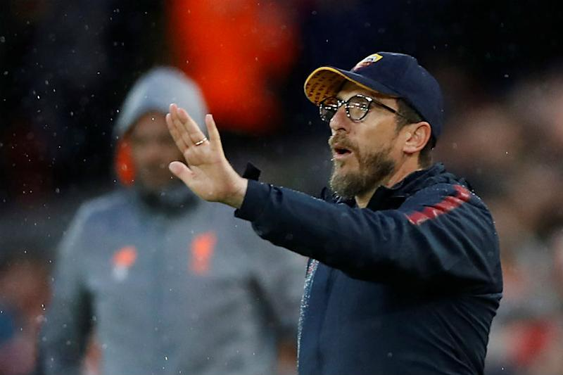We Lost Our Heads But Have to Believe, Says Roma Coach Di Francesco