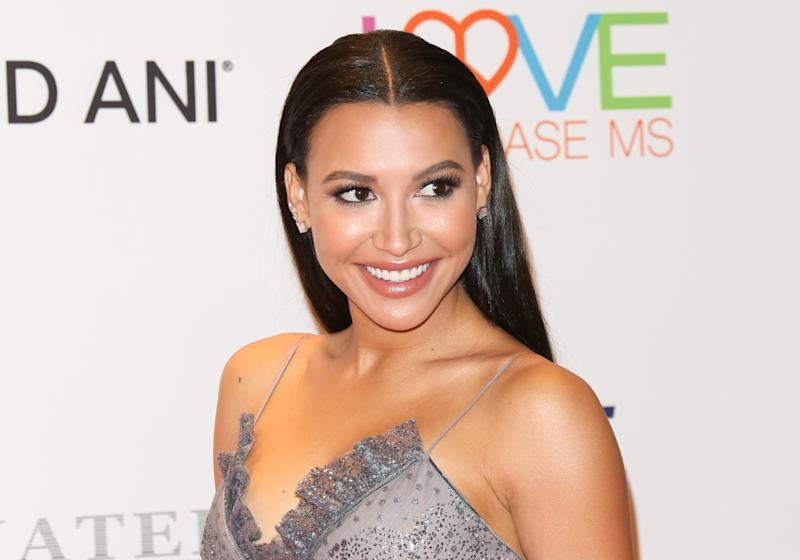 Naya Rivera attends the 24th annual Race To Erase MS Gala at The Beverly Hilton Hotel on May 5, 2017 in Beverly Hills, California. (Photo by Paul Archuleta/FilmMagic for Fashion Media )