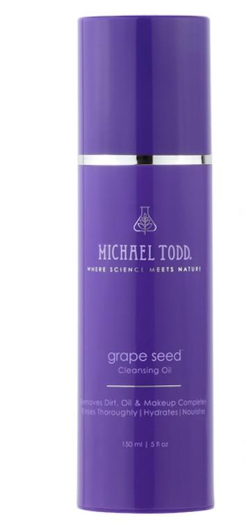 Michael Todd Beauty's Grape Seed Cleansing Oil hydrates skin and leaves behind a luminous glow. (Photo: Michael Todd Beauty)