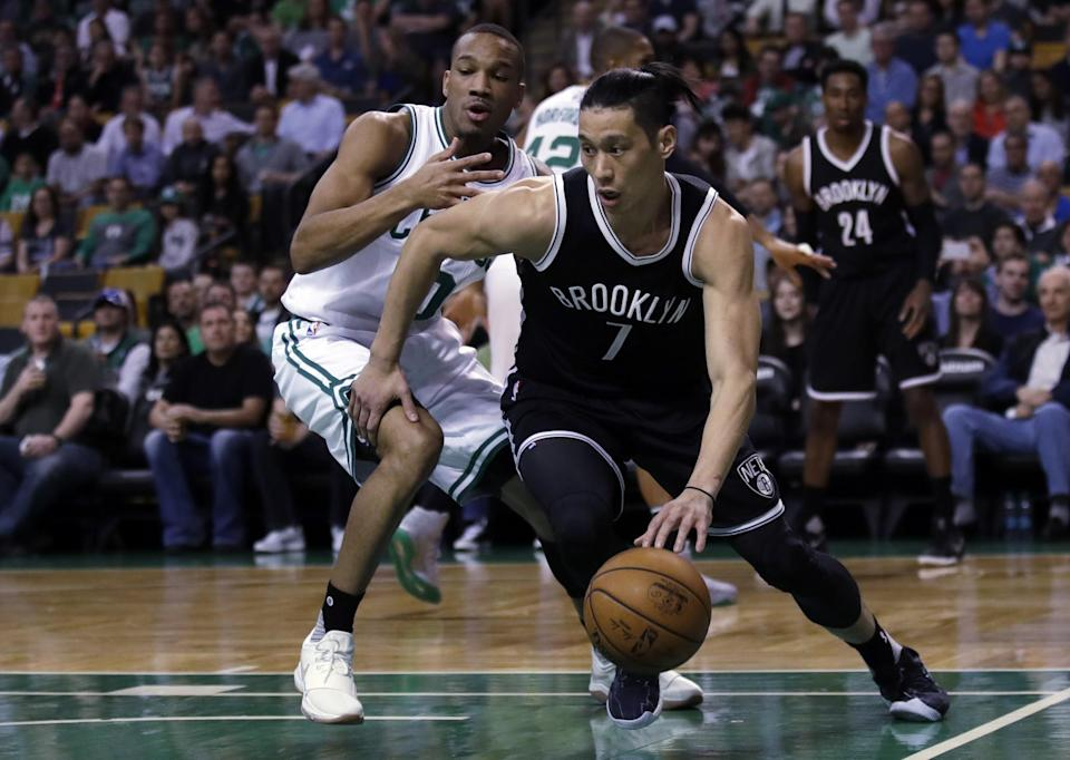 Jeremy Lin's injury-filled season was an issue for the Nets. (AP)