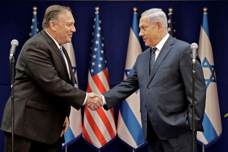 """Israeli Prime Minister Benjamin Netanyahu has cultivated extremely close relations with the US administation, championing its policy of """"maximum pressure"""" on shared foe Iran"""