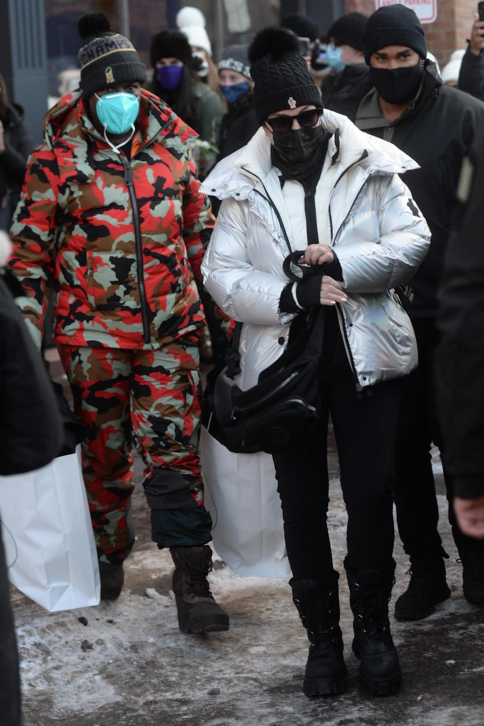 <p>Kris Jenner and boyfriend Corey Gamble were spotted out and about in Aspen, Colorado.</p>