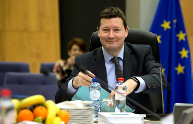 European Commission secretary-general Martin Selmayr. Photo: AP