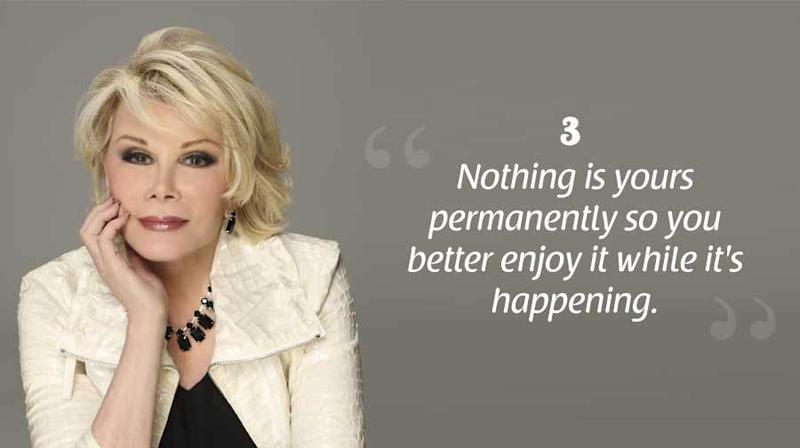 8 Joan Rivers Quotes to Live By