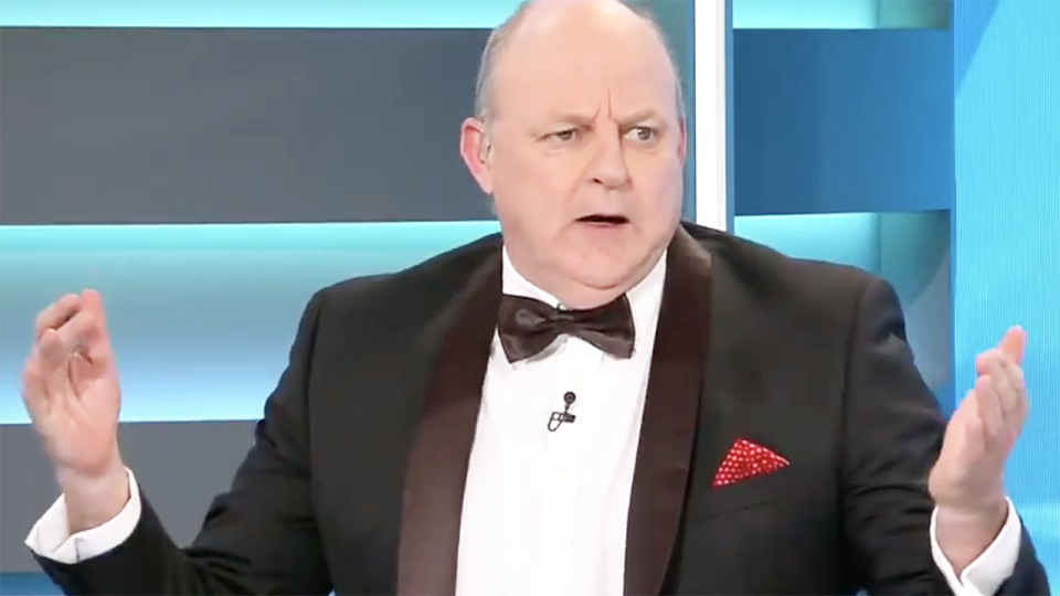 AFL great Billy Brownless has announced he will be retiring from hosting the Sunday Footy Show on Channel 9, after more than 20 years with the network. Picture: Channel 9