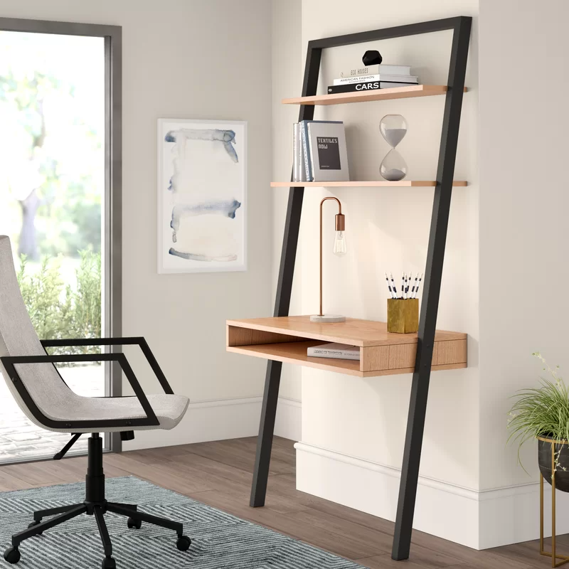 """<h2>20% Off Zipcode Design Coby Leaning/Ladder Desk</h2><br><strong>304 reviews and 4.5 out of 5 stars</strong><br>""""Perfect desk for a small in-home office space. Assembly was fast and I was able to do it by myself. The shelves + lower cubby offer a ton of storage space and allows for a clean workspace."""" <em>– Wayfair Reviewer</em><br><br><em>Shop <strong><a href=""""https://www.wayfair.com/furniture/pdp/zipcode-design-coby-leaningladder-desk-w004244333.html"""" rel=""""nofollow noopener"""" target=""""_blank"""" data-ylk=""""slk:Wayfair"""" class=""""link rapid-noclick-resp"""">Wayfair</a></strong></em><br><br><strong>Zipcode Design</strong> Coby Leaning/Ladder Desk, $, available at <a href=""""https://go.skimresources.com/?id=30283X879131&url=https%3A%2F%2Fwww.wayfair.com%2Ffurniture%2Fpdp%2Fzipcode-design-coby-leaningladder-desk-w004244333.html"""" rel=""""nofollow noopener"""" target=""""_blank"""" data-ylk=""""slk:Wayfair"""" class=""""link rapid-noclick-resp"""">Wayfair</a>"""