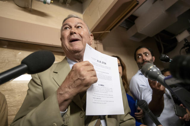 Rep. Dana Rohrabacher, R-Calif. (Photo: J. Scott Applewhite/AP)
