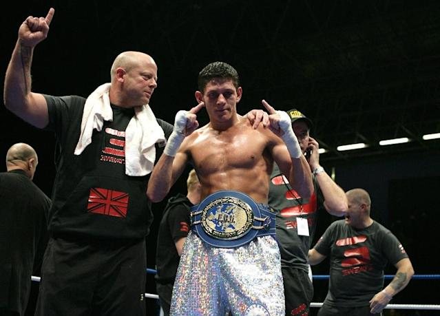 British boxer Jamie MCDonnell, pictured on March 20, 2010, retained his World Boxing Association bantamweight title with a unanimous decision over Japan's Tomoki Kameda (AFP Photo/Stephane Danna)