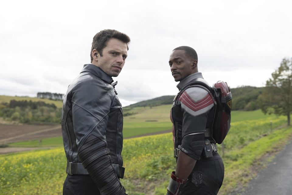 the falcon and the solider bucky and sam hq
