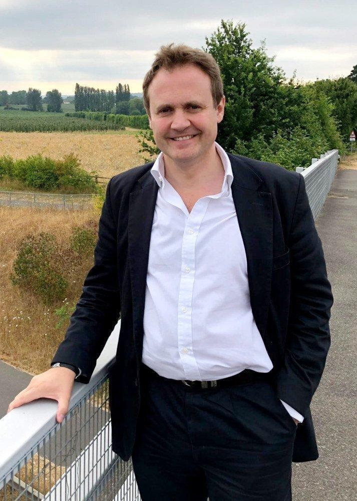 MP Tom Tugendhat, chair of the UK parliament's Foreign Affairs Committee. Photo: Handout