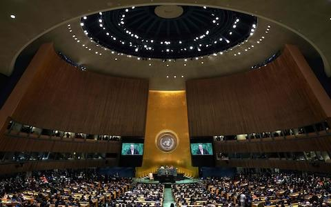 The UN General Assembly - Credit: Timothy A Clary/AFP