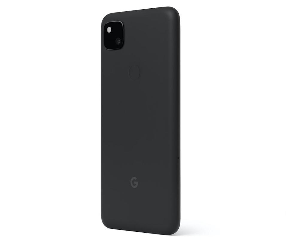 Google's Pixel 4a includes a rear fingerprint reader, which proves incredibly helpful while wearing a face mask. (Image: Google)