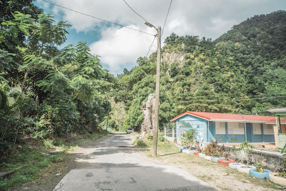 Dominica has been severely impacted by hurricanes over the last half decade. (WCK/Alicia Sully)