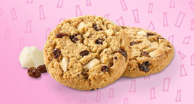 <p>Honestly, oatmeal cookies are totally underrated. But these bad boys should be loaded with chocolate chips, not raisins and white chocolate. So while they're not the worst, there's absolutely room for improvement here. </p>