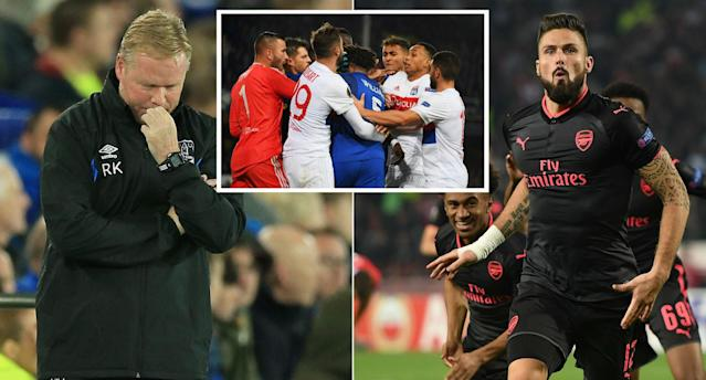 English teams had mixed fortunes in the Europa League this week.