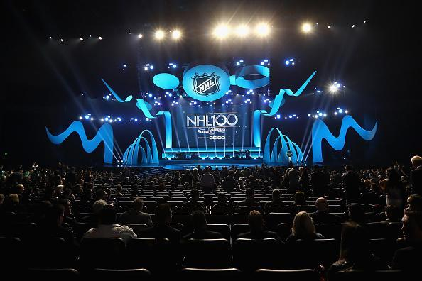 A general view during the NHL 100 presented by GEICO Show as part of the 2017 NHL All-Star Weekend at the Microsoft Theater on January 27, 2017 in Los Angeles, California. (Getty Images)