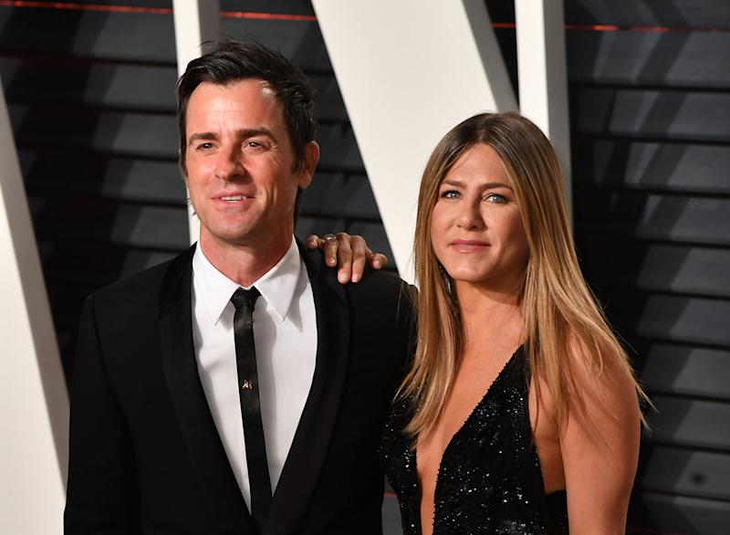 Justin Theroux Bought a Piñata for Jennifer Aniston But There Was No Candy