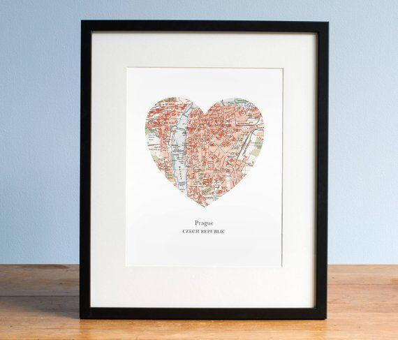 """<p><strong>AGierDesign</strong></p><p>etsy.com</p><p><strong>$68.00</strong></p><p><a href=""""https://go.redirectingat.com?id=74968X1596630&url=https%3A%2F%2Fwww.etsy.com%2Flisting%2F174400920%2Fprague-heart-print-czech-map-print-heart&sref=https%3A%2F%2Fwww.countryliving.com%2Fshopping%2Fgifts%2Fg1416%2Fvalentines-day-gifts%2F"""" rel=""""nofollow noopener"""" target=""""_blank"""" data-ylk=""""slk:Shop Now"""" class=""""link rapid-noclick-resp"""">Shop Now</a></p><p>Honor the city or small town where your love story began with this one-of-a-kind idea.</p>"""