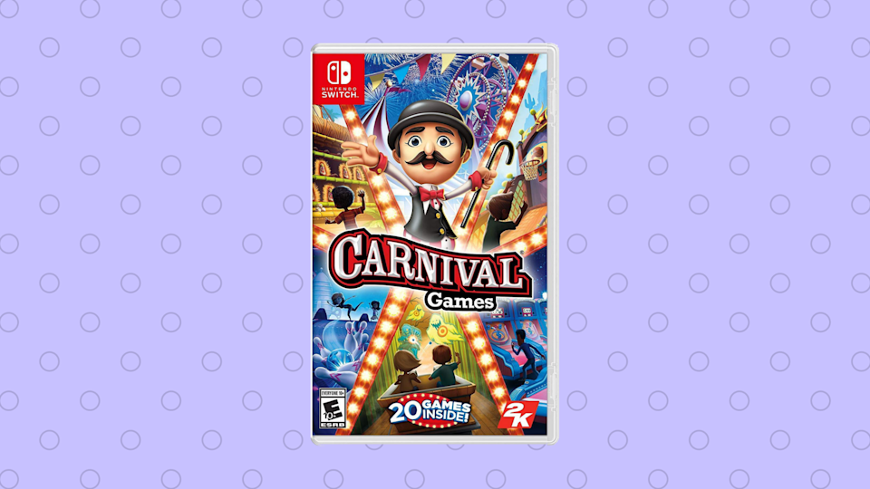 Save 63 percent on Carnival Games for Nintendo Switch. (Photo: Amazon)