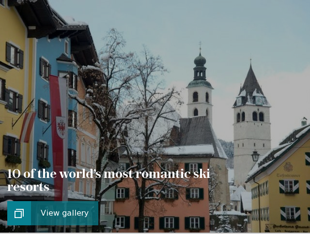 10 of the world's most romantic ski resorts