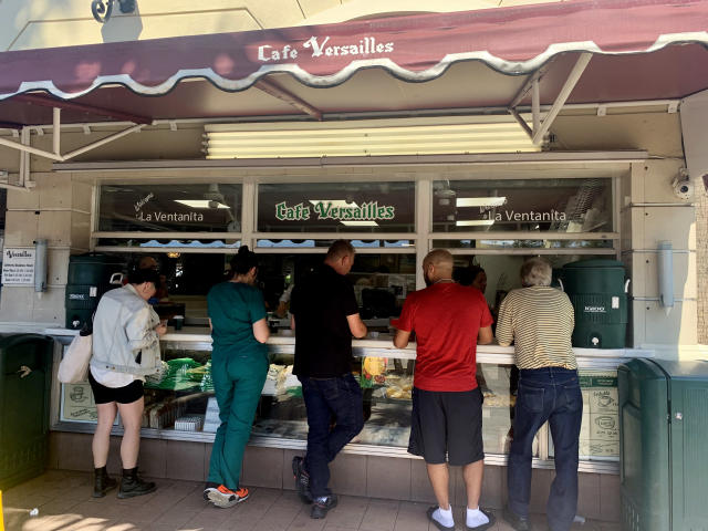 Cafe Versailles in the Little Havana section of Miami. (Caitlin Dickson/Yahoo News)