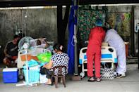 The Philippines is one of the world's biggest exporters of healthcare workers (AFP/Maria TAN)