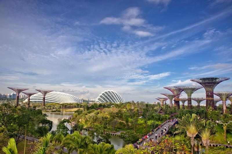 Gardens By The Bay Singapore.