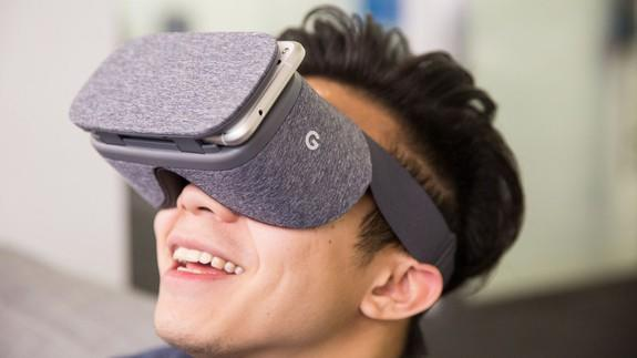 The <b>Google</b> Daydream View VR headset is only $50 today so yeah, get on that