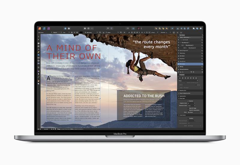 Mac App of the Year: Affinity Publisher (Serif Labs). Source: Apple