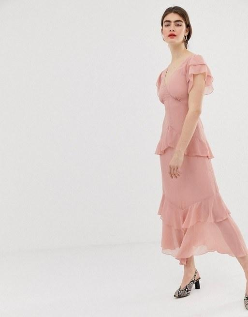 beb9352972 29 Pretty Pastel Wedding Guest Dresses to Wear This Spring