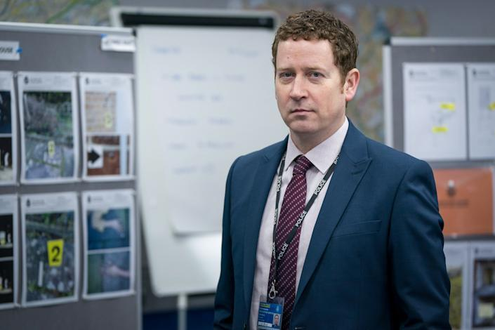 'Line Of Duty's DCI Ian Buckells, played by Nigel Boyle. (BBC)