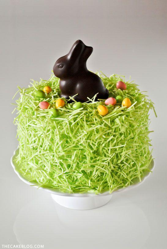 """<p>A chocolate bunny is the cherry on top of this adorbs Easter cake.</p><p>Get the recipe from <a href=""""http://thecakeblog.com/2014/03/diy-chocolate-bunny-cake.html"""" rel=""""nofollow noopener"""" target=""""_blank"""" data-ylk=""""slk:The Cake Blog"""" class=""""link rapid-noclick-resp"""">The Cake Blog</a>.</p>"""