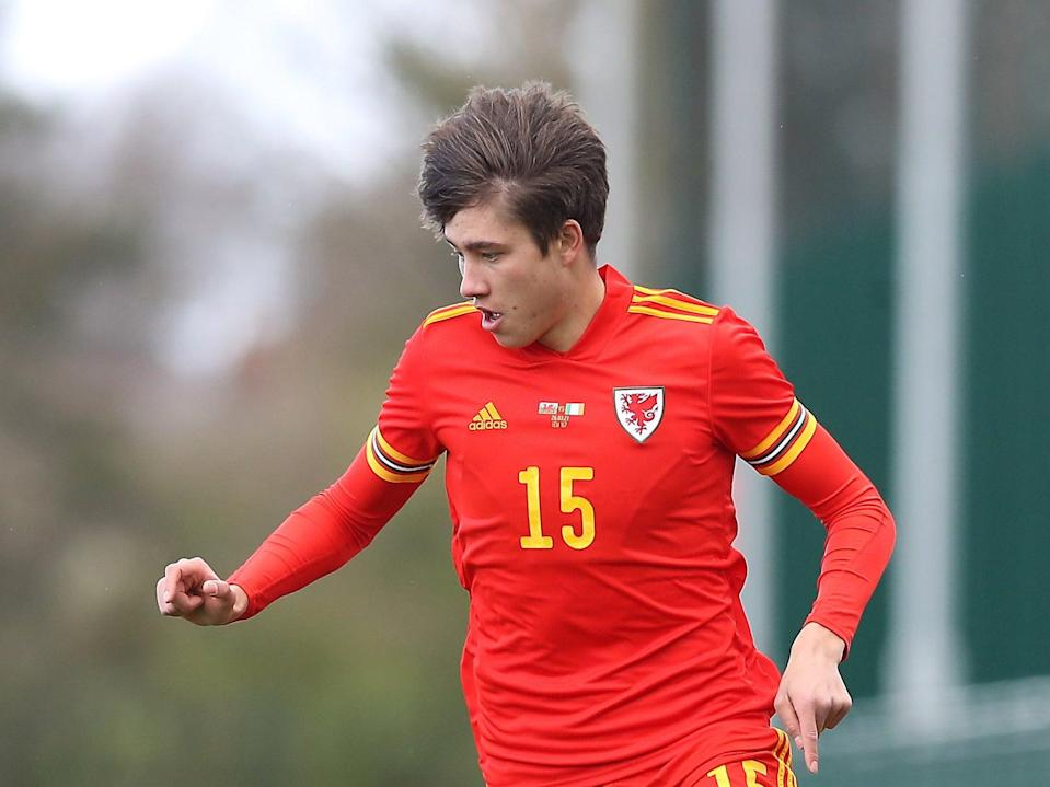 <p>Rubin Colwill has been named in Wales' squad for Euro 2020</p> (PA Wire)