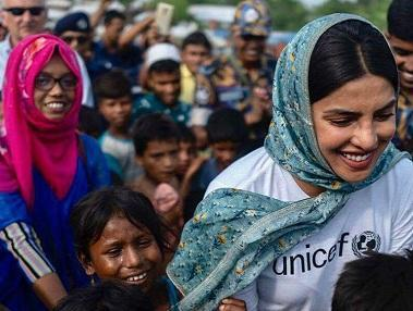 <p>But she is not all glamour and no generosity. Priyanka expresses her gratitude to success by supporting various causes related to the girl child through her foundation 'The Priyanka Chopra Foundation for Health and Education', which works towards providing support to unprivileged children across the country in the areas of education and health. She donates 10% of her earnings to fund the foundation's operations, and pays for educational and medical expenses for seventy children in India, fifty among whom are girls. She was also appointed as UNICEF's Goodwill Ambassador in 2016. </p>