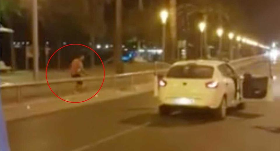 Police fired 14 shots before gunning down the terrorist in Cambrils on Thursday night