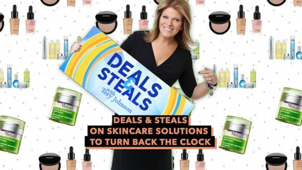 PHOTO:Deals & Steals on skincare solutions to turn back the clock (ABC News)