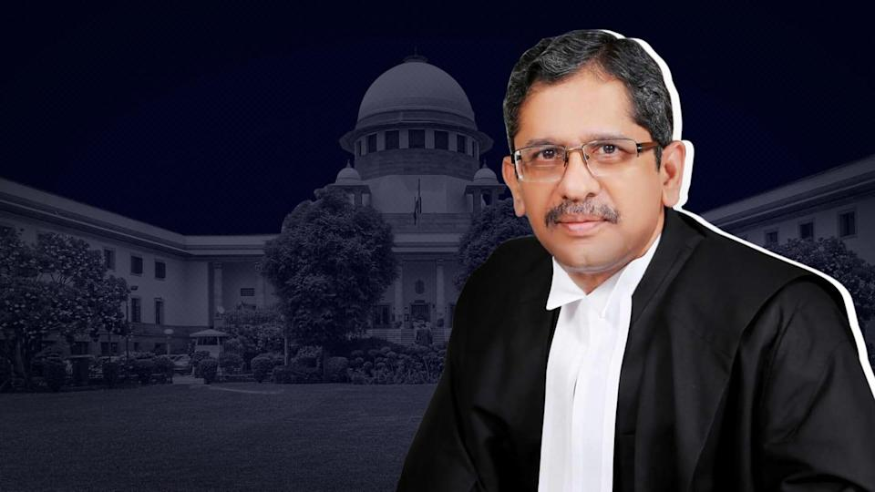 Justice NV Ramana sworn in as Chief Justice of India
