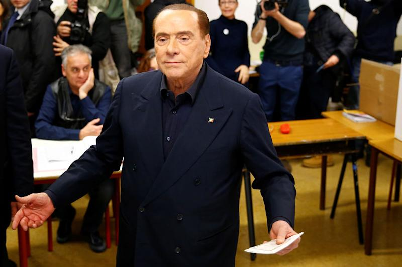 'Will Support League Leader as Italy Prime Minister' : Berlusconi
