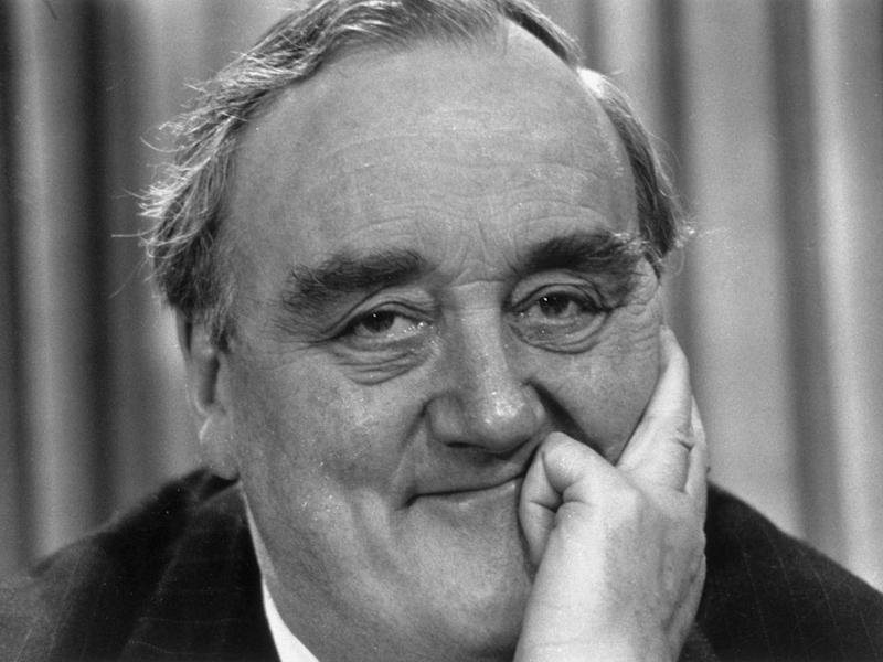 William Whitelaw, Margaret Thatcher's Home Secretary, became known for implementing the 'short, sharp shock' policy (Hulton Archive)