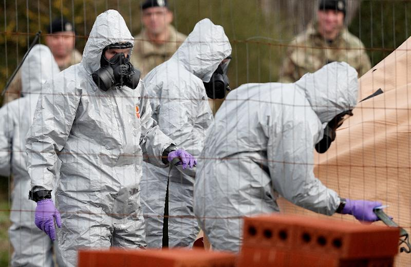 British military personnel helped to identify the nerve agent used in the March 4 poisoning of Russian double-agent Sergei Skripal in Salisbury