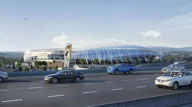 <p>LAFC has broken ground on Banc of California Stadium at the site of the L.A. Memorial Sports Arena.</p>