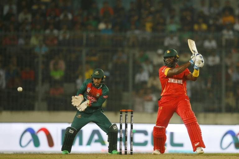 Hamilton Masakadza (R) - who held the record for youngest Test century scorer - has played a key role in Zimbabwe cricket since his debut in 2001