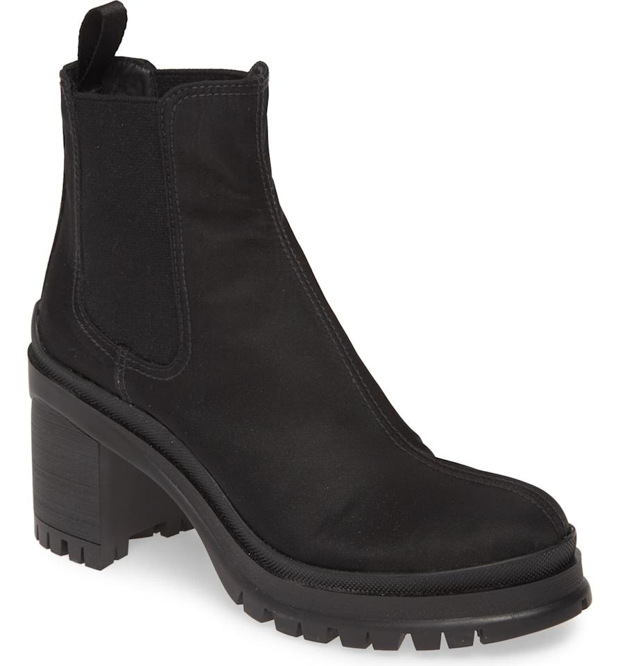"<p>We've been lusting after these <a href=""https://www.popsugar.com/buy/Prada-Chelsea-Boots-534505?p_name=Prada%20Chelsea%20Boots&retailer=shop.nordstrom.com&pid=534505&price=750&evar1=fab%3Aus&evar9=45610650&evar98=https%3A%2F%2Fwww.popsugar.com%2Ffashion%2Fphoto-gallery%2F45610650%2Fimage%2F47038837%2FPrada-Chelsea-Boots&list1=shopping%2Cfall%20fashion%2Cshoes%2Cboots%2Cfall%2Cbooties%2Cbest%20of%202020&prop13=mobile&pdata=1"" rel=""nofollow"" data-shoppable-link=""1"" target=""_blank"" class=""ga-track"" data-ga-category=""Related"" data-ga-label=""https://shop.nordstrom.com/s/prada-chelsea-boot-women-nordstrom-exclusive/5330177/full?origin=keywordsearch-personalizedsort&amp;breadcrumb=Home%2FAll%20Results&amp;color=black"" data-ga-action=""In-Line Links"">Prada Chelsea Boots</a> ($750) since we first laid eyes on them. They're tough and cool, but will still look good with a dress or skirt.</p>"