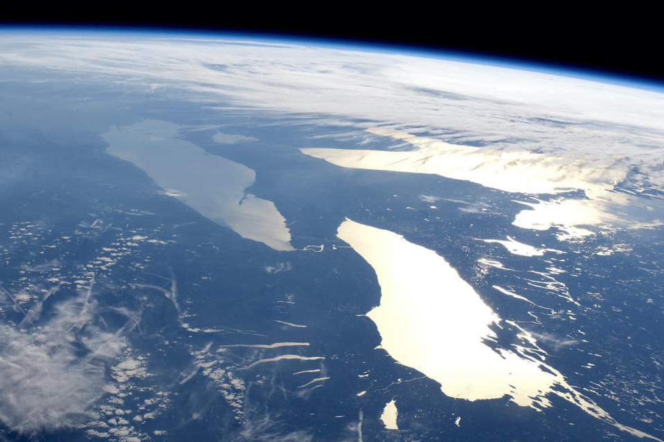 This Great Lake is missing over 1 million Olympic-sized pools of water