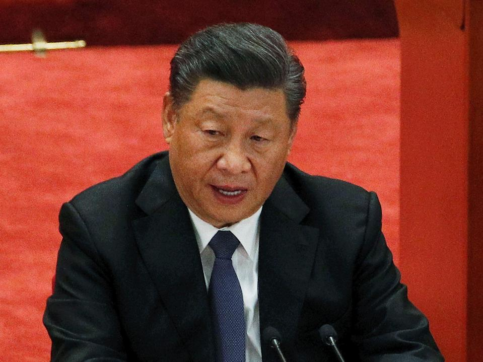 Chinese President Xi Jinping said multilateralism was crucial for tackling the global climate crisis (AP)