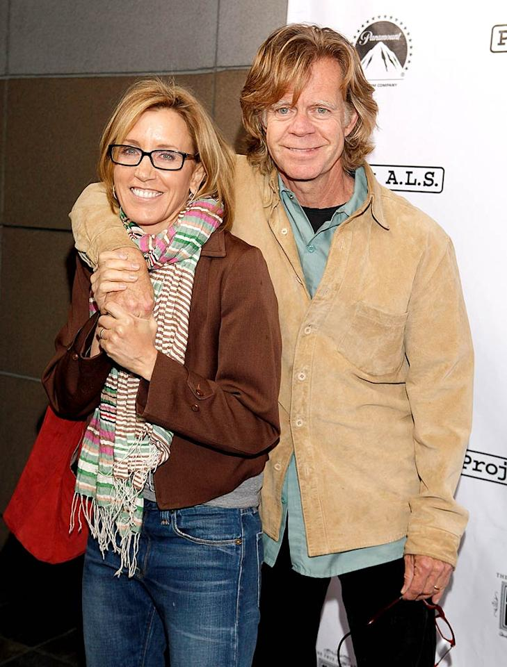 """""""Desperate Housewives"""" star Felicity Huffman and her hubby William H. Macy were ready to rock 'n' bowl! Todd Williamson/<a href=""""http://www.wireimage.com"""" target=""""new"""">WireImage.com</a> - April 21, 2010"""