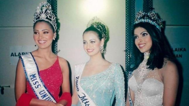 Lara Dutta shared an epic photo with Priyanka Chopra and Dia Mirza, from their pageant winner days.